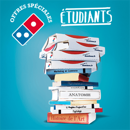Domino's - Promos étudiants - Dealabs