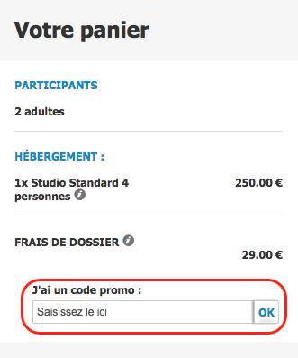 Pierre et vacances – code promo – Dealabs