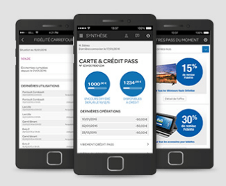 Carrefour – application mobile banque – Dealabs