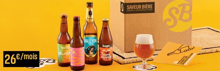 Saveur Bière – Abonnement à la box bières – Dealabs