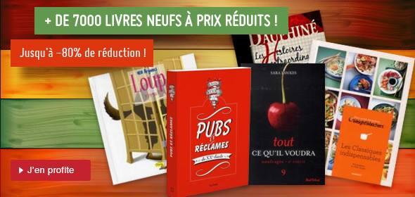chapitre – promo et soldes sur les livres neufs