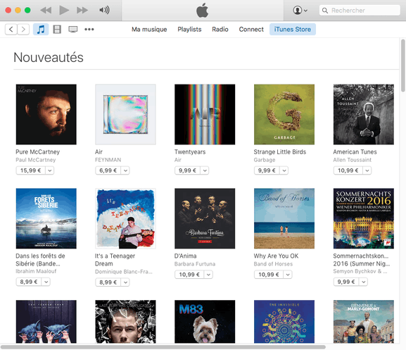iTunes – l'application pour Mac – Dealabs