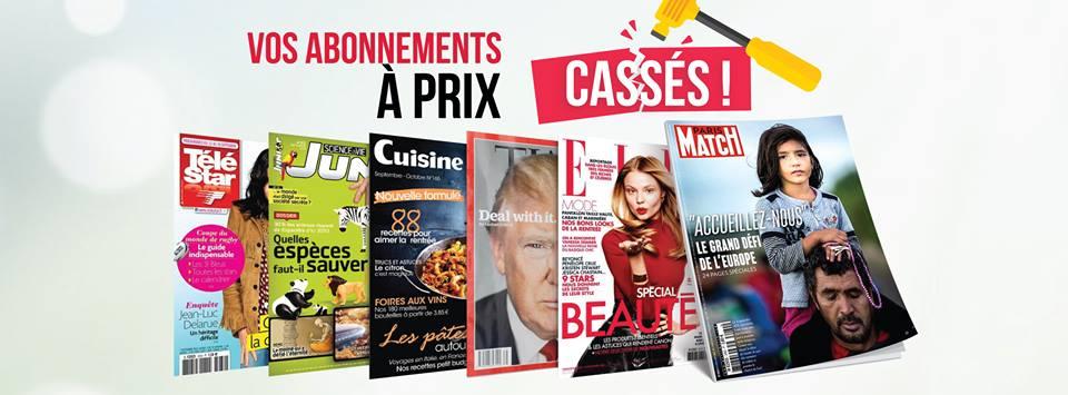 Viapresse – Abonnements magazines et journaux pas cher – Dealabs
