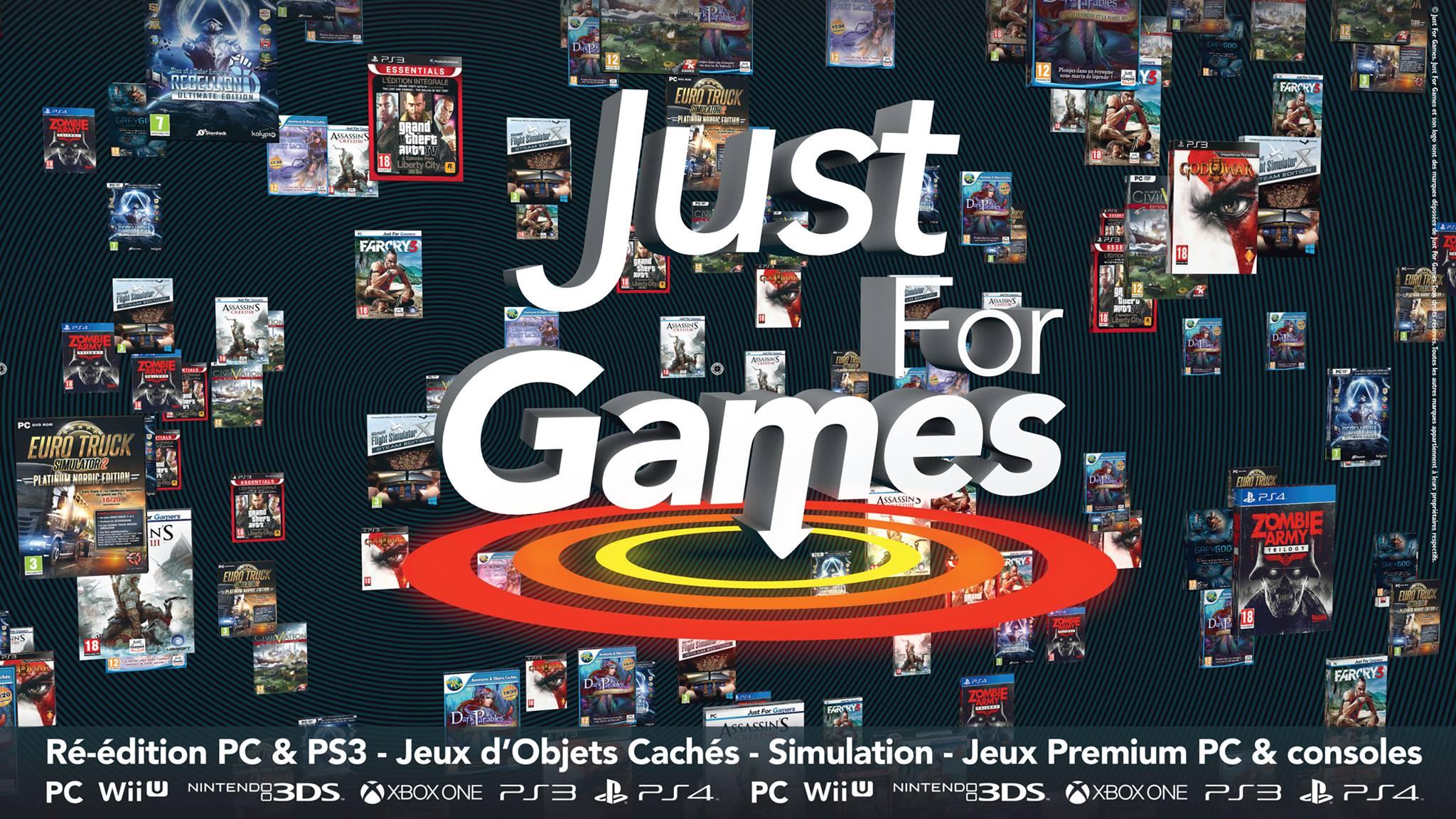 Just For Games – édition, réedition, vente de jeux vidéo pour console et PC pas cher – Dealabs