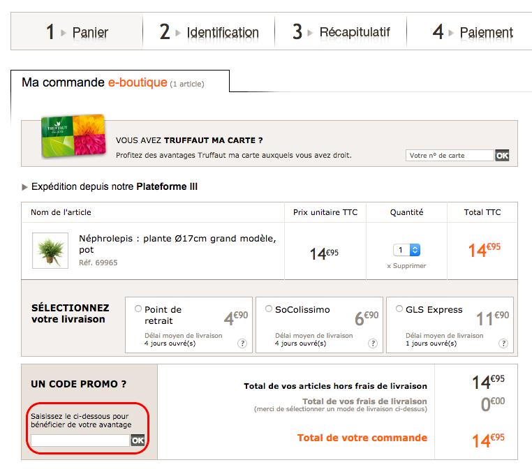 truffaut – un code promo valable sur la jardinerie en ligne – Dealabs