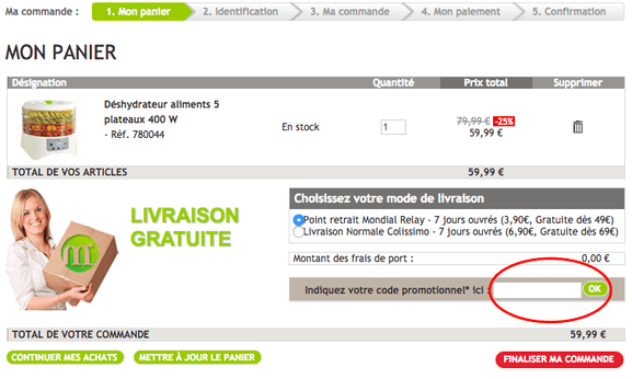 mathon – utiliser un code promo – Dealabs