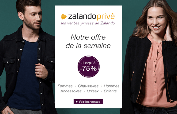 Zalando prive – ventes privées exclusives – Dealabs