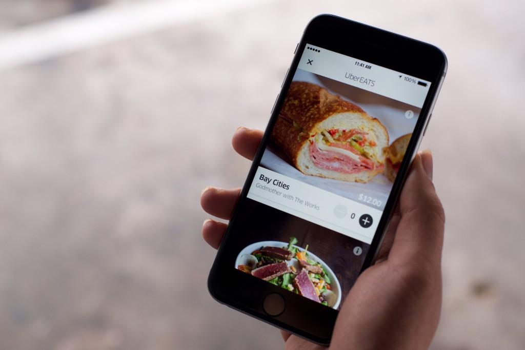 UberEATS – application pour commander à manger à domicile – Dealabs