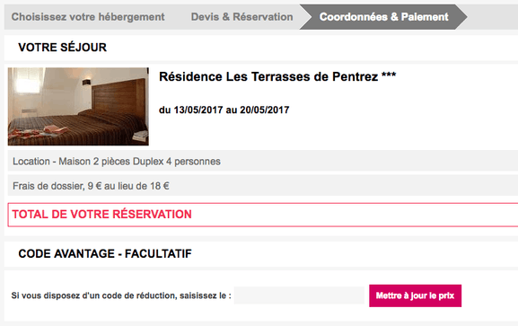 Madame Vacances – un code promo pour une réduction sur votre séjour à la montagne – Dealabs