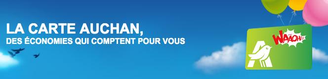 Auchan – Carte de fidélité Waaoh – Dealabs