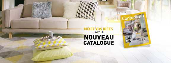 Conforama catalogue déco et mobilier dealabs