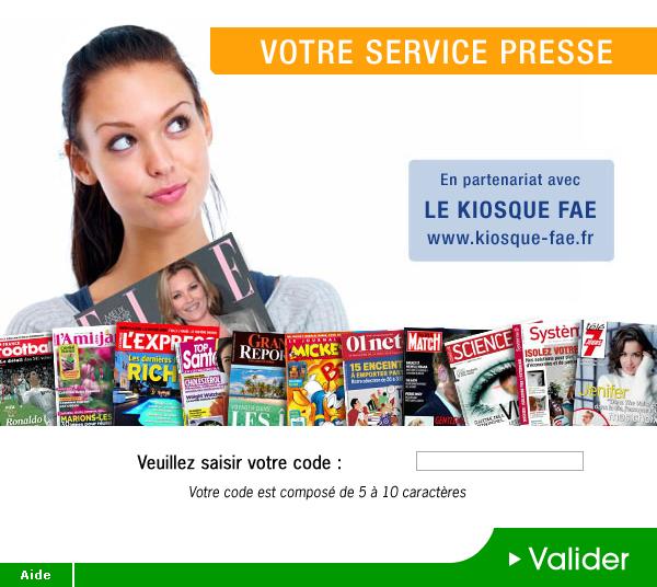 Kiosque Fae – code promo – Dealabs