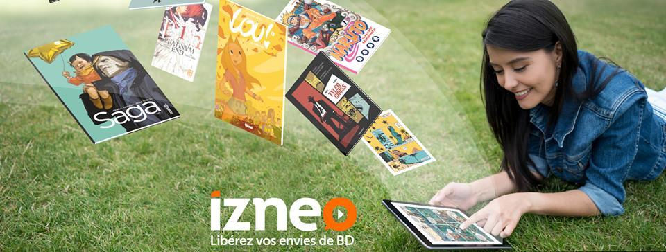 Izneo – bande dessinée numérique – Dealabs