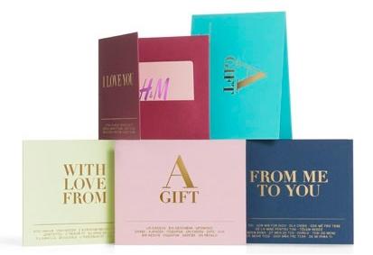 H&M – carte cadeau pour fans de mode – Dealabs