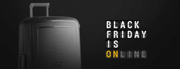 Samsonite – black friday – Dealabs