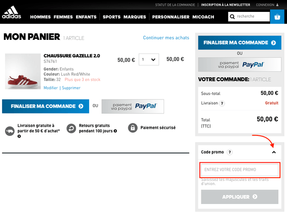 259c0813075 Code promo adidas ⇒ Réductions mai 2019 - Dealabs.com