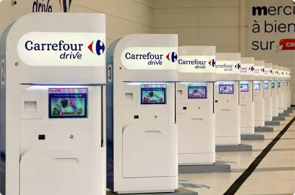 Carrefour Drive – borne de retrait de vos courses – Dealabs