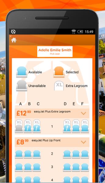 easyjet – application mobile – Dealabs