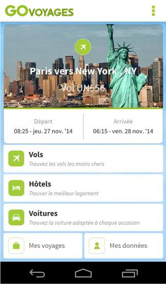 govoyages – l'appli mobile – Dealabs