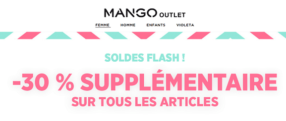 mango outlet – soldes et ventes flash – Dealabs