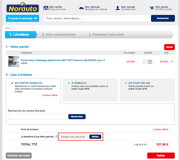 norauto – code promo, mode d'emploi – Dealabs