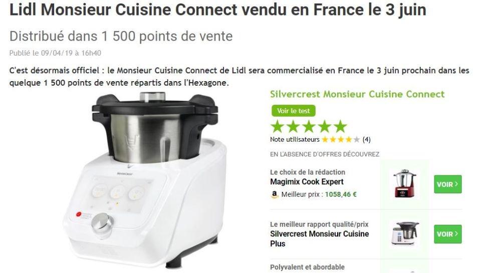 Monsieur Cuisine Plus Connect En Allemagne Dealabs Com