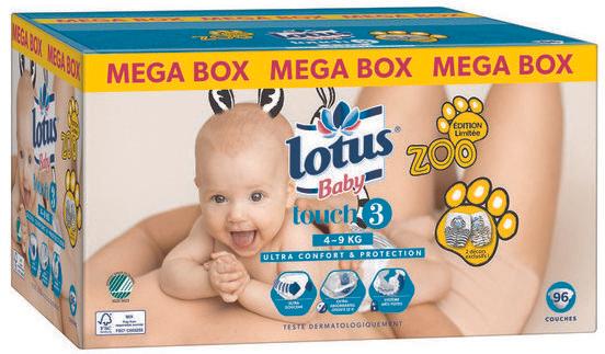 Couches Lotus Baby Megapack Via 21 35 Sur La Carte Fidelite