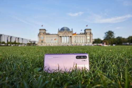 Huawei P30 Reichstag Allemagne