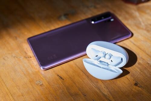Portable et écouteurs Huawei
