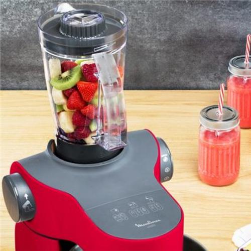 Robot Moulinex Wizzo avec fruits