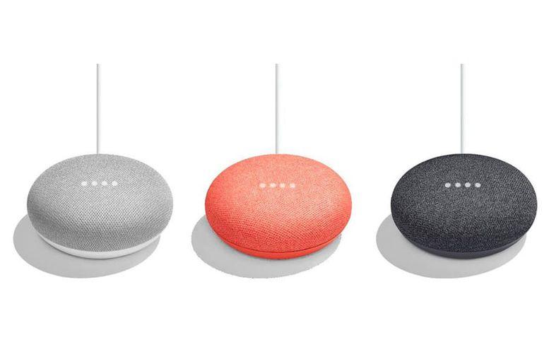 Enceinte Google Home Mini toutes couleurs