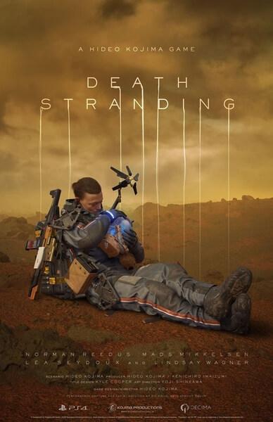 Death Stranding affiche fin