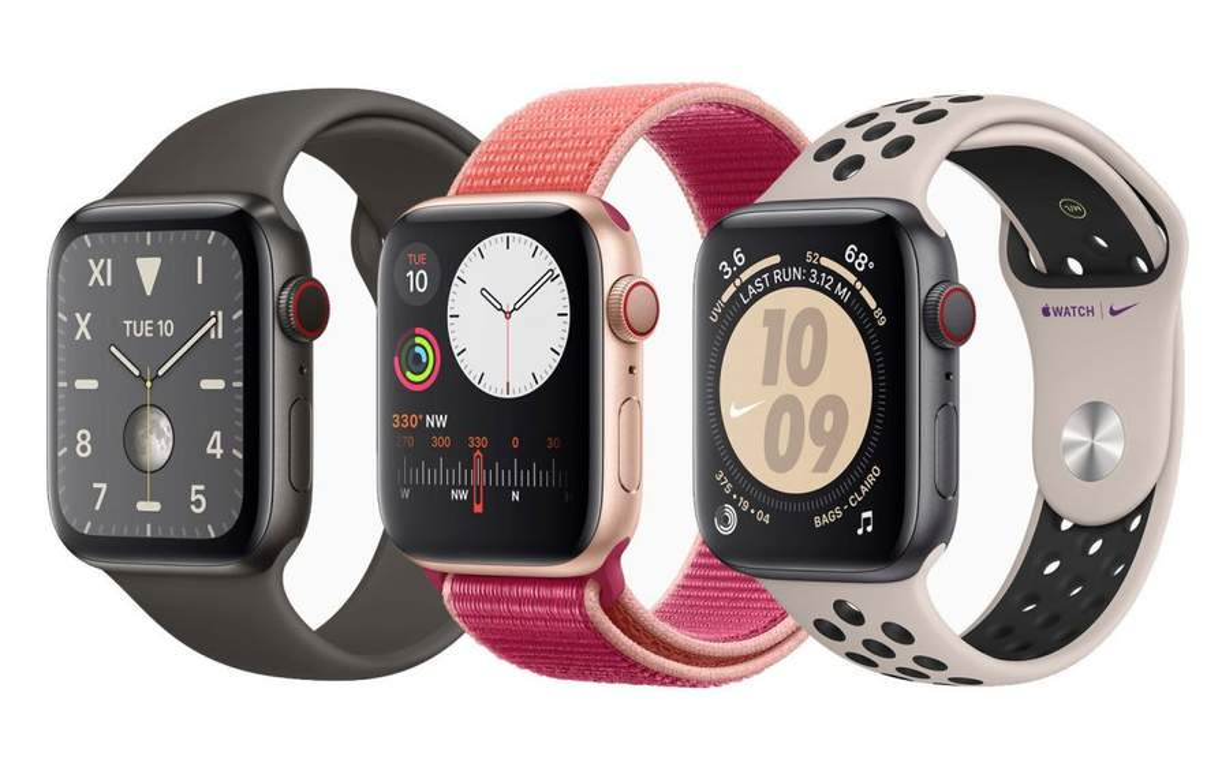Divers bracelets Apple Watch 5