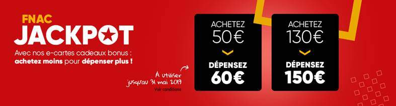 Carte Cadeau Fnac Contre Argent.E Carte Cadeau Fnac Darty D Une Valeur De 60 Pour 50 Et