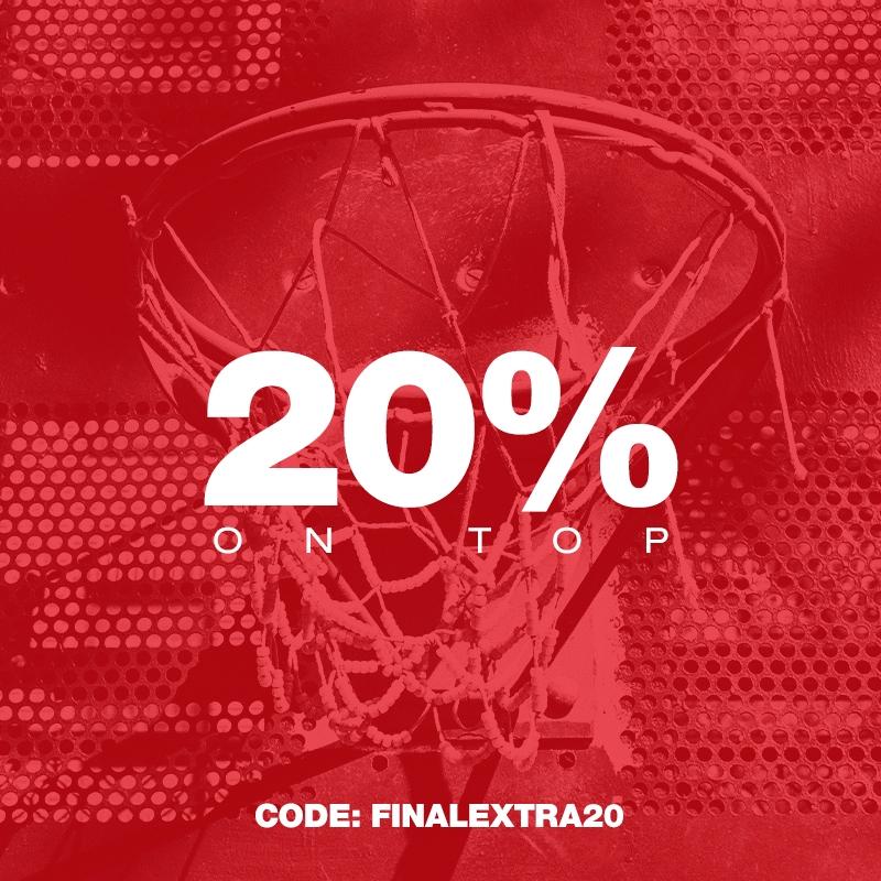 buy popular c269d 333d7 Dernier code d une longue série, FINALEXTRA20 vous permet encore d obtenir  20% de réduction supplémentaire, cette fois-ci sur TOUS les produits soldés.