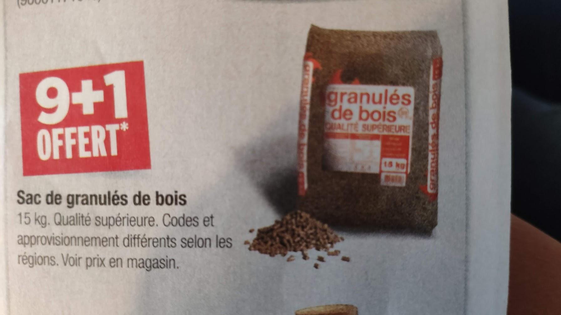 Granules De Bois Atlantique 15 Kg Castorama