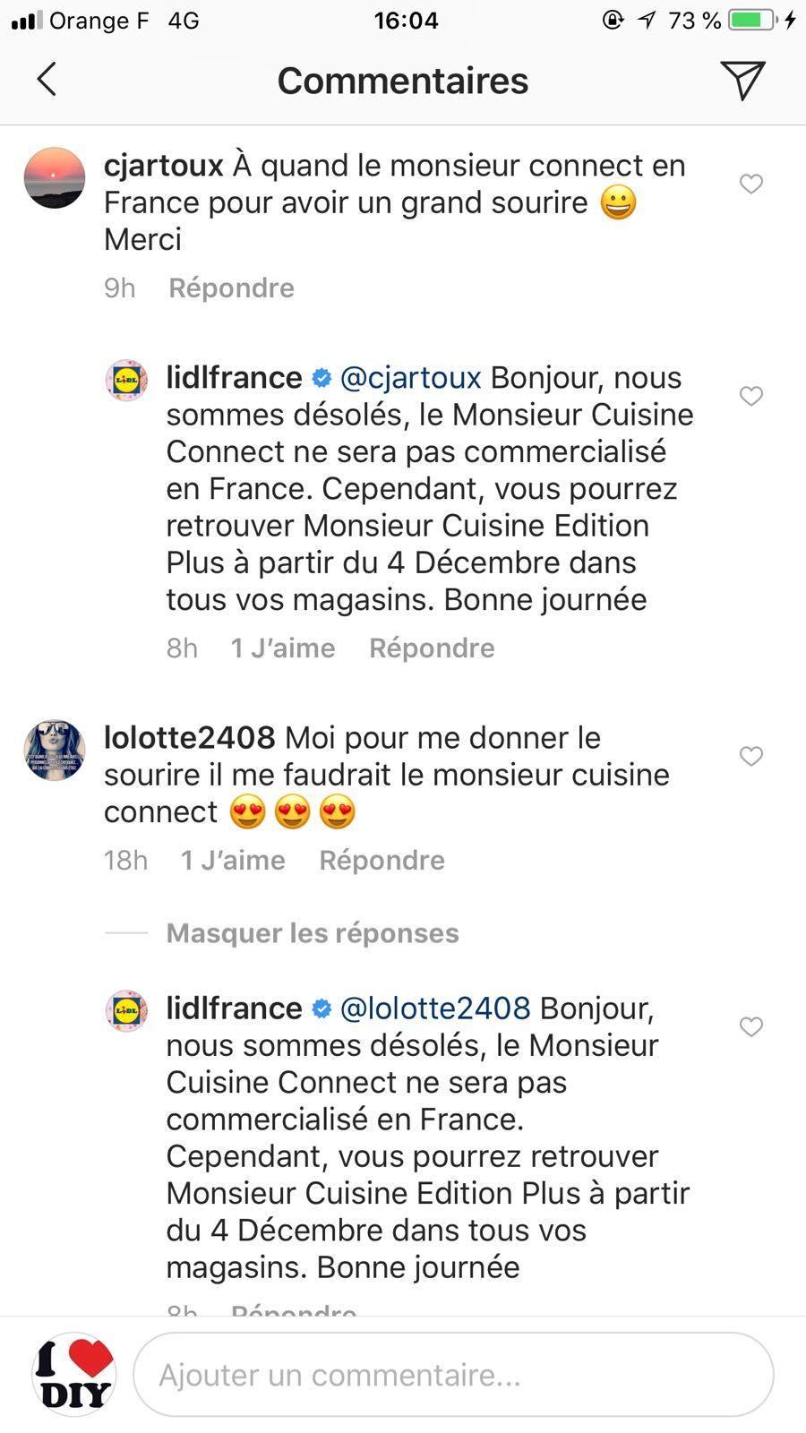 Monsieur Cuisine Connect De Lidl Finalement Non Commercialisé En