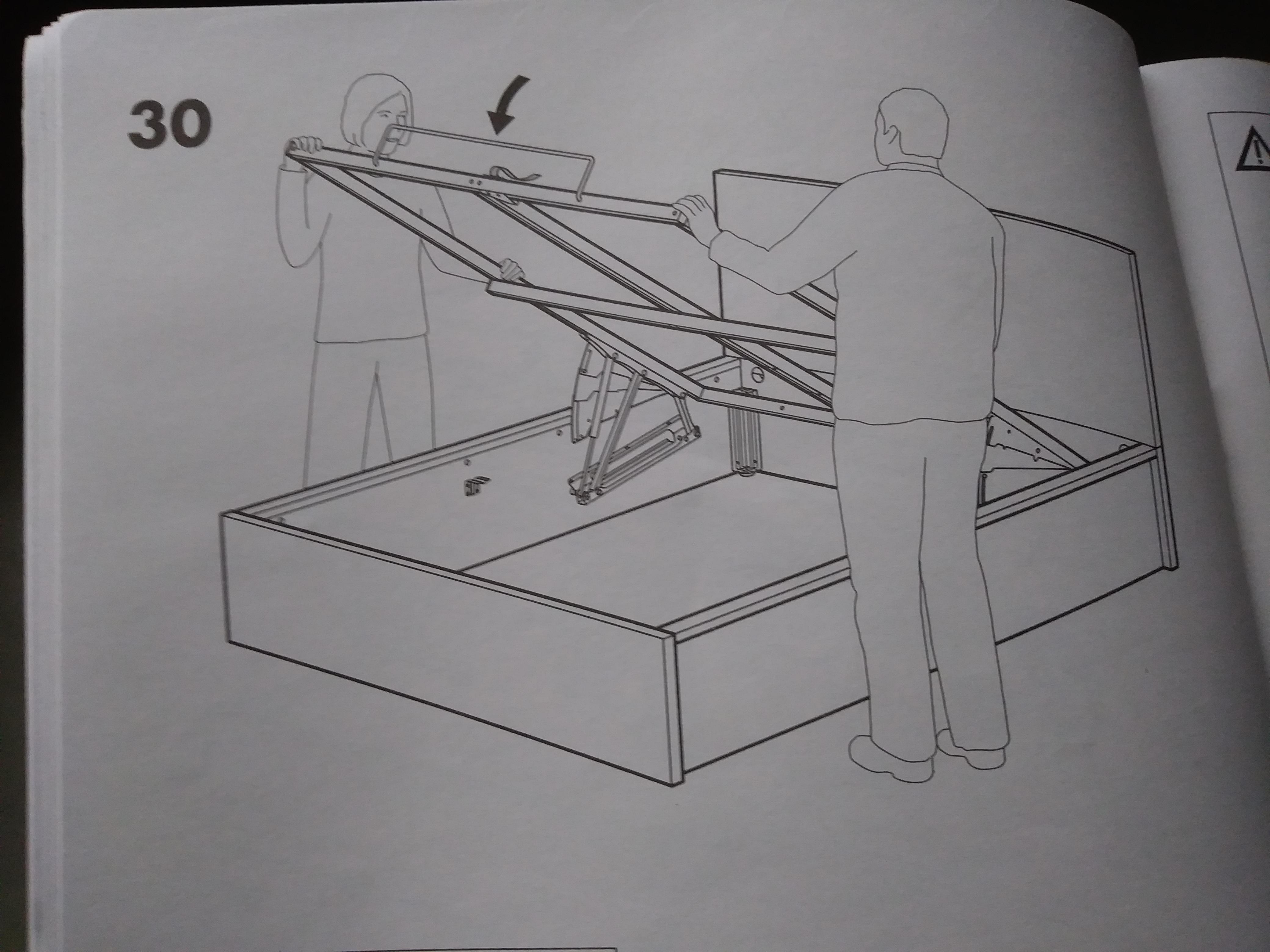Lit Coffre Malm 160 200 Ikea Dealabs Com