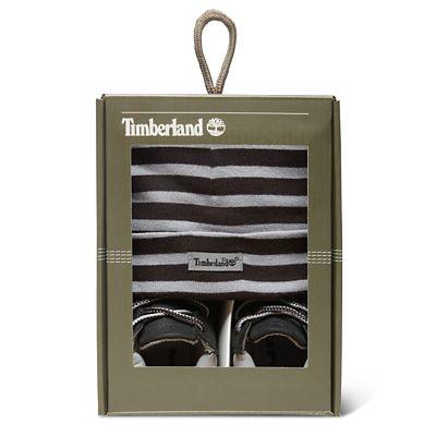 Bonnet et chaussons Timberland pour bébé - Noir – Dealabs.com 5ea6f46c725