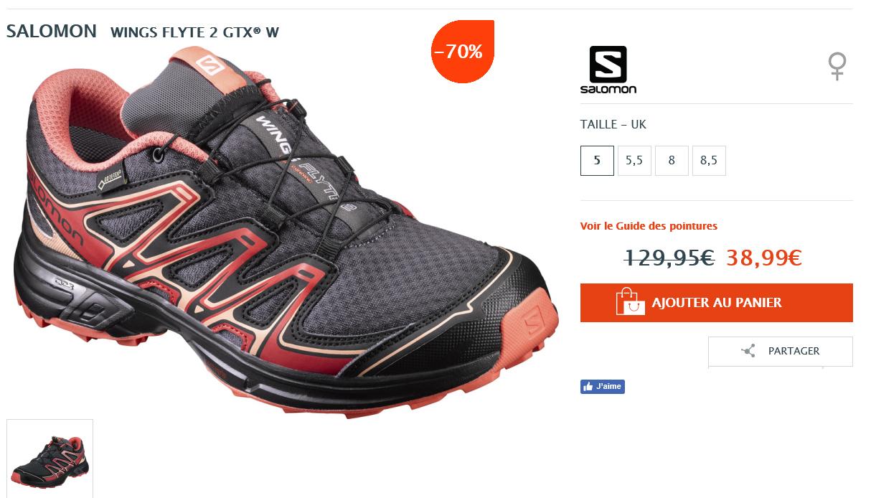 Chaussures be Femme trakks Vario Salomon Speedcross W Gtx rrfg0qx