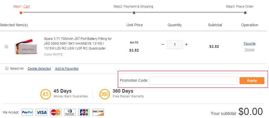 Utiliser un code sur Gearbest – Dealabs.com 5f709b7b5f1e