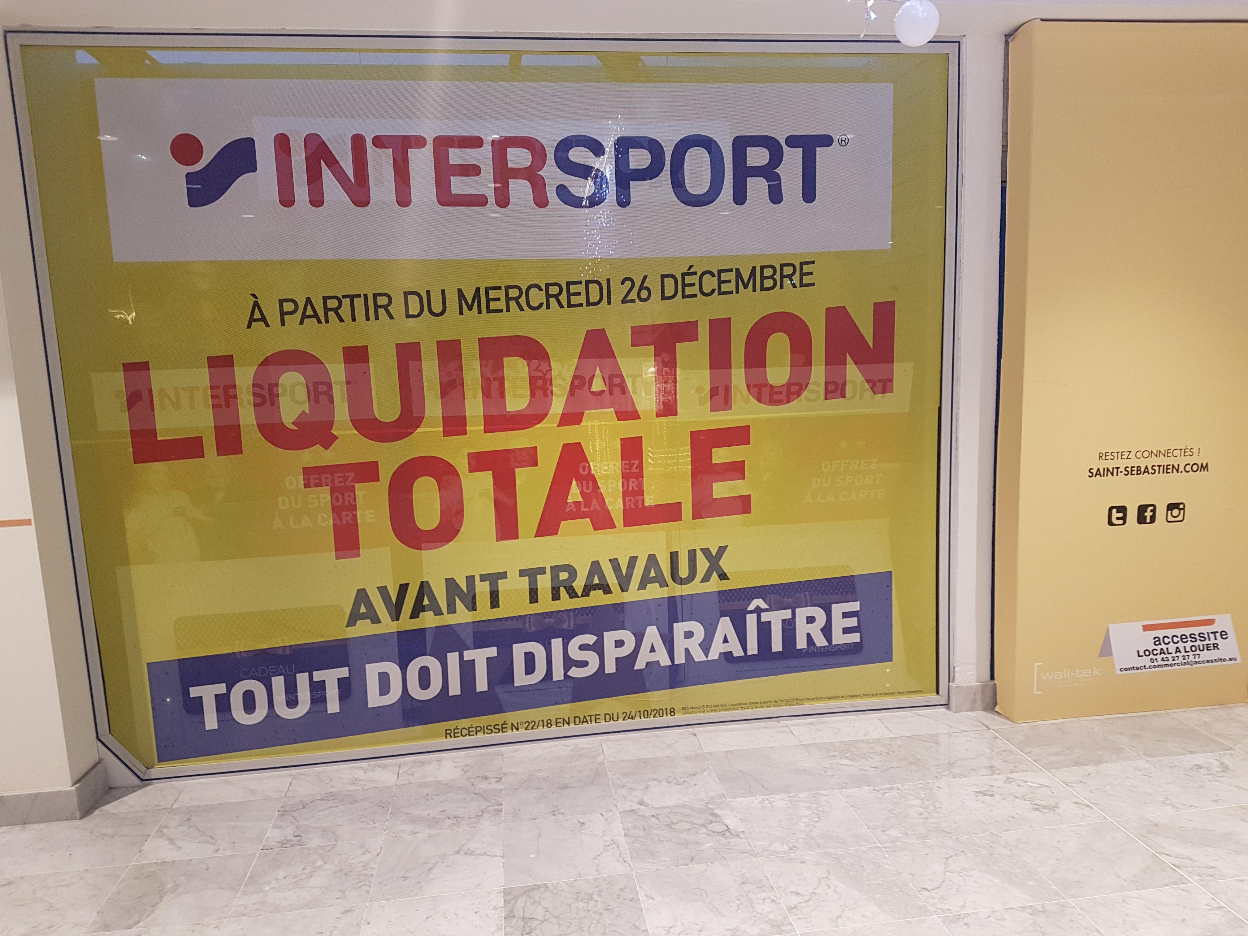 De Magasin Tout Le Réduction Jusqu'à Intersport Sur liquidation 70 5wUxqC6Yn1