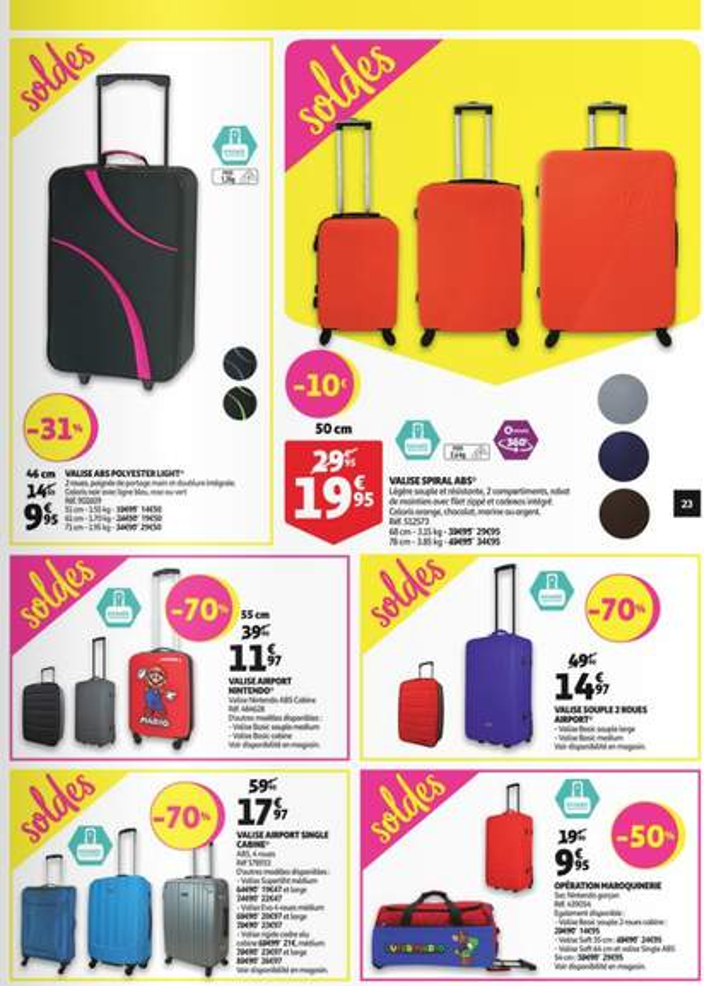 Valise Auchan 10 Euros Le Meilleur Porte Vente De
