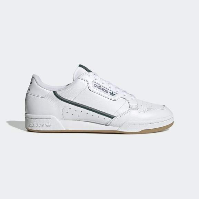 Baskets Adidas Continental 80 Adidas Blanche à 50% de