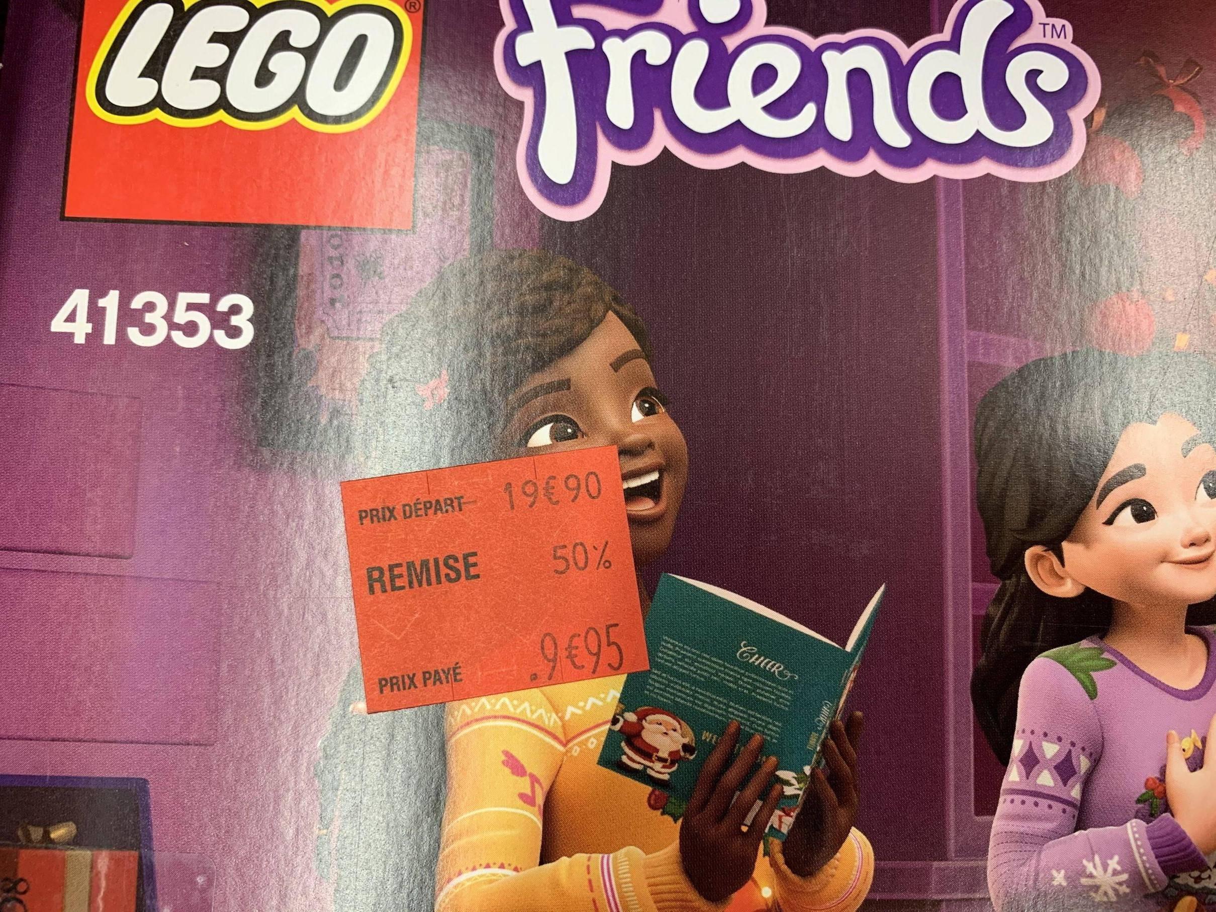 Calendrier De L Avent Lego Star Wars Carrefour.Calendrier De L Avent Lego Friend S 41353 Carrefour