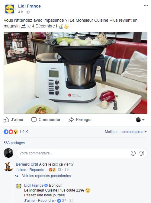 Robot Multifonction Silvercrest Monsieur Cuisine Edition Plus