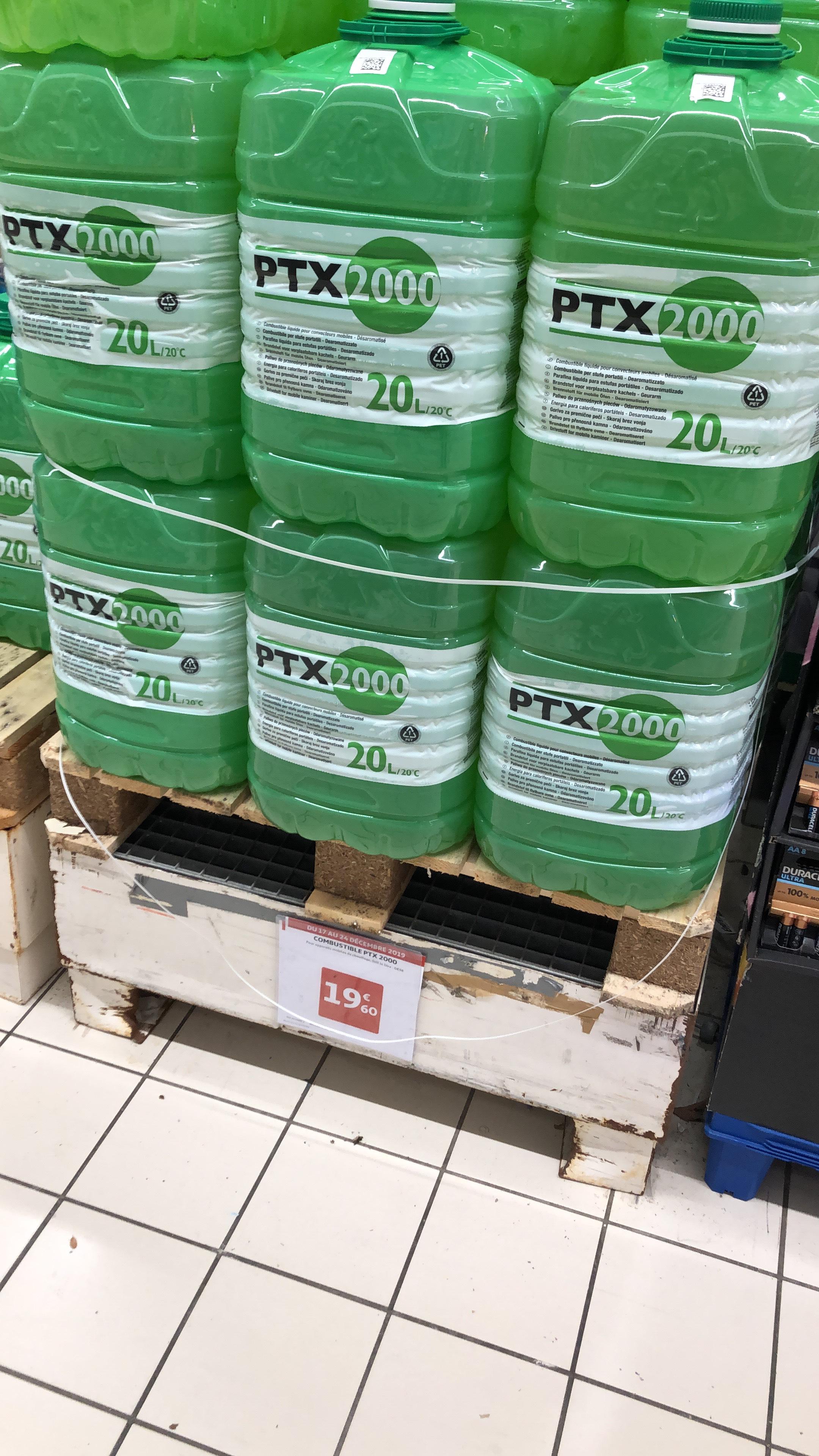 Bidon De Combustible Pour Poêle à Pétrole Ptx2000 20l