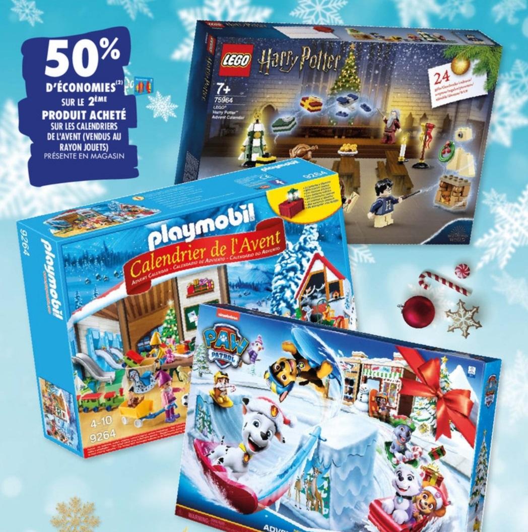 Calendrier De L Avent Lego Star Wars Carrefour.2 Calendriers De L Avent Achetes 50 Rembourse Sur Le