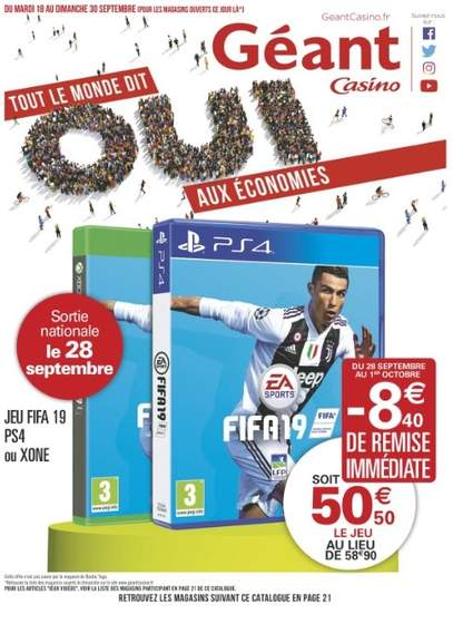 pack xbox one geant casino