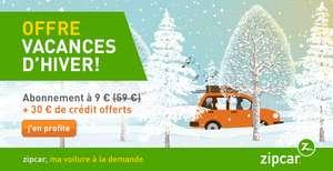 Abonnement d'un an + 30€ de crédit offerts